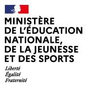 Logo du Ministère de l'éducation nationale, de la jeunesse et des sports, soutien d'Info Jeunes Bretagne