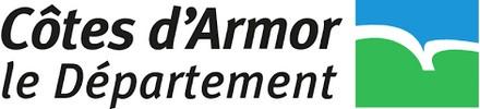 Logo du conseil départemental des Côtes d'Armor, soutien d'Info Jeunes Bretagne