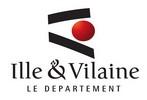 Logo du conseil départemental d'Ille-et-vilaine, soutien d'Info Jeunes Bretagne